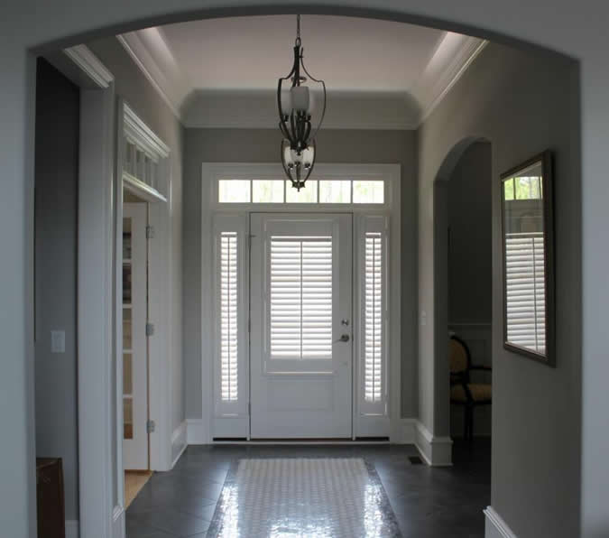 door-andsidelight-plantation-shutters-wilmington-nc